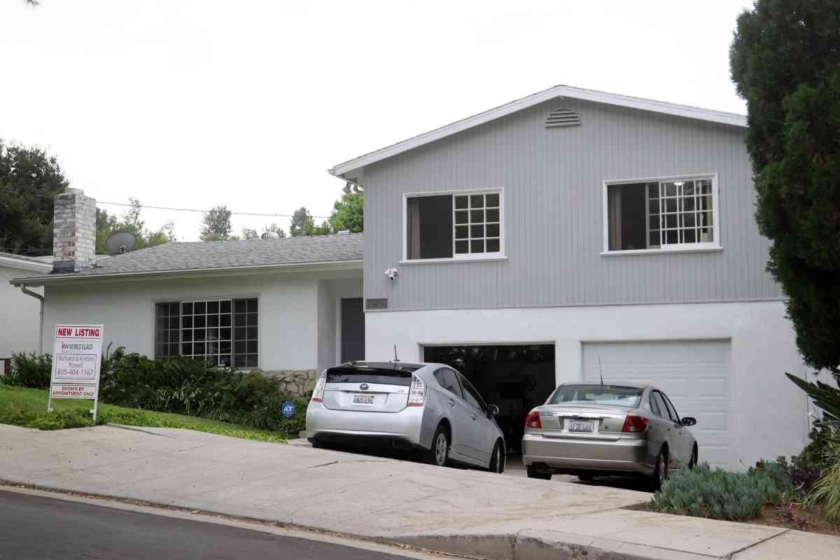 La casa donde vivió Markle en los primeros años de su vida y que ahora está a la venta.