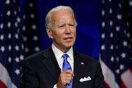 El candidato demócrata a la Presidencia estadounidense, Joe Biden.
