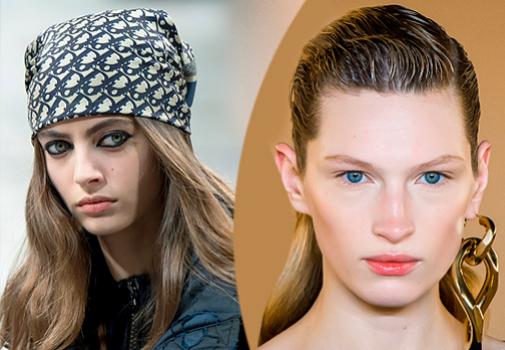 Bandana o efecto wet: dos peinados que disimulan una melena seca o que ha perdido el corte.