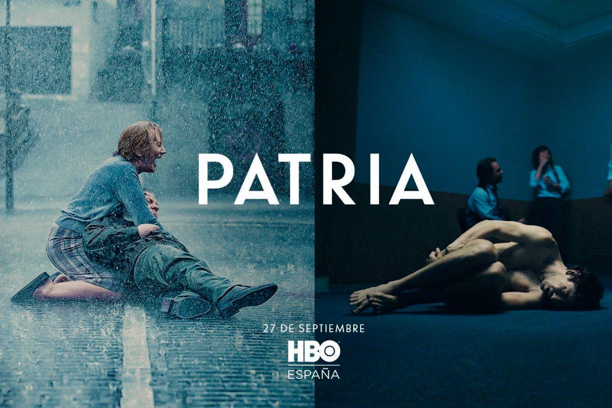 El cartel de 'Patria' que ha provocado las críticas de las víctimas de terrorismo.