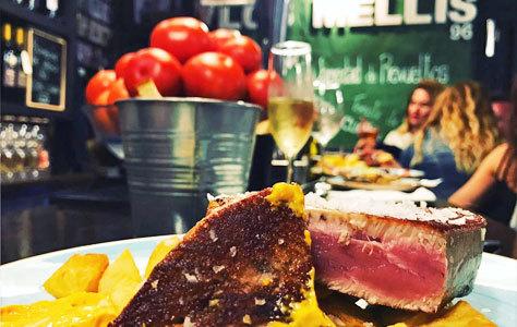 Los Melli, un clásico para comer atún y otras especialidades locales.