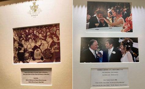 Imágenes de la galería real y la dedicada a James Bond.