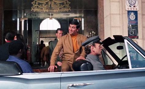 La entrada del hotel en '007 al servicio secreto de su Majestad'.