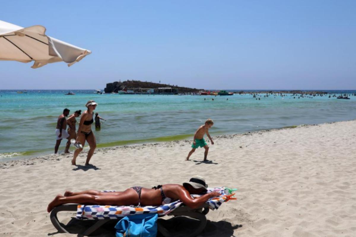 Una de las playas de Chipre.
