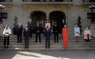 Foto de grupo del nuevo Gobierno vasco.