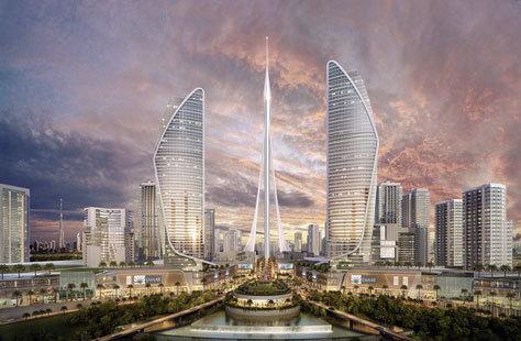 El nuevo edificio medirá más de 828 metros.