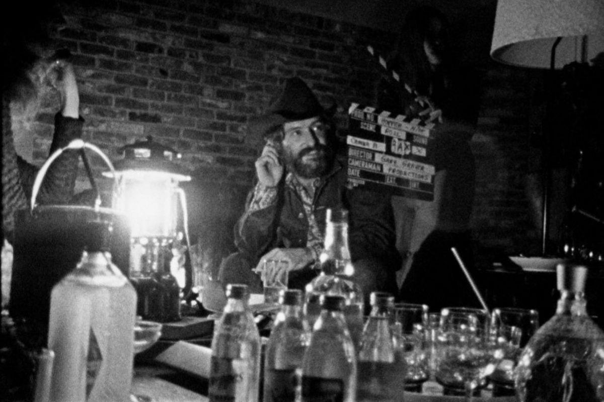 Dennis Hopper en un momento de 'Hopper/Welles', presentada en Venecia.