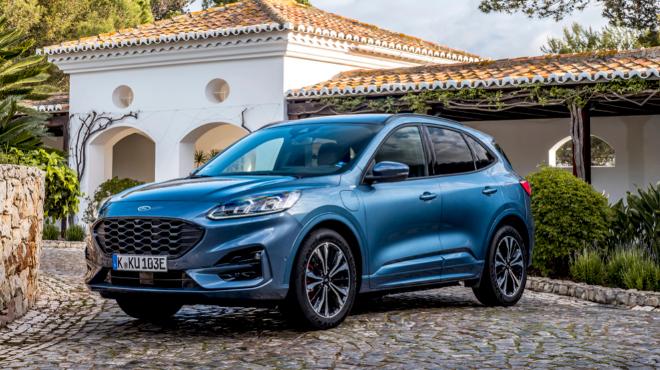 Ford ha logrado colocar al Kuga, fabricado en Valencia, como líder entre los híbridos enchufables