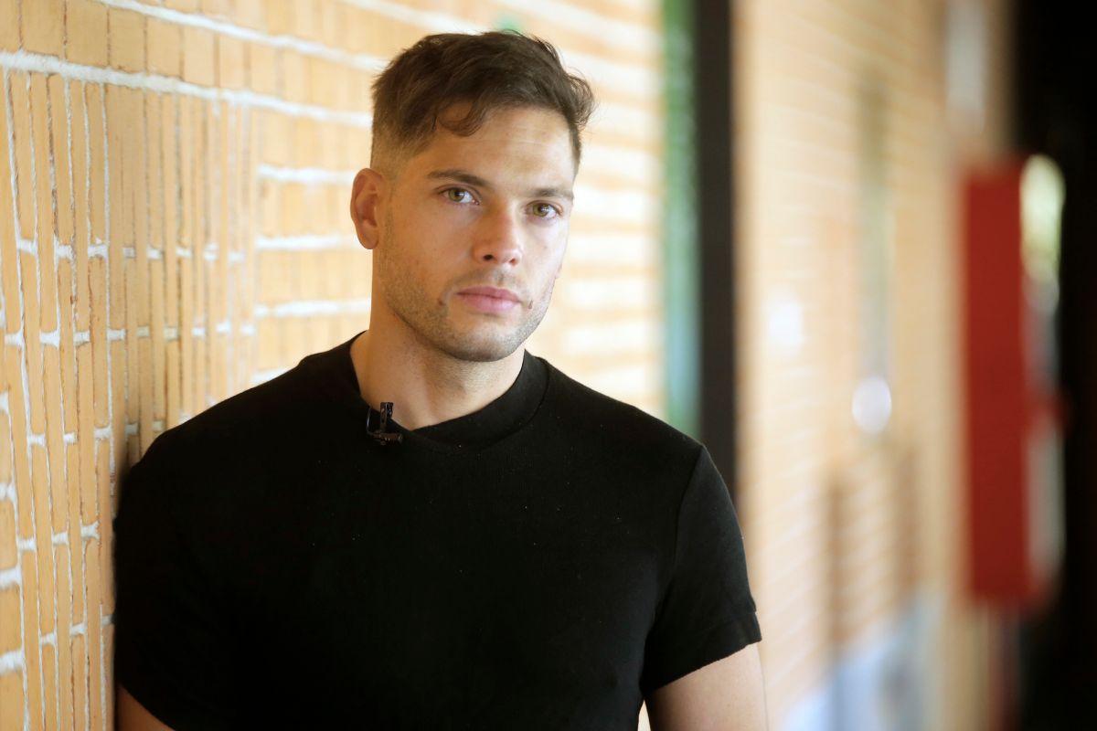 El actor Román Reyes.