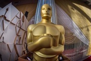 Estatua de los Oscar en el Kodak Theater de Los Ángeles.