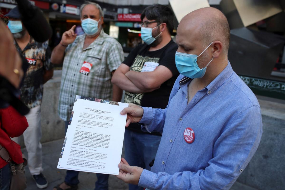 Los profesores de Madrid, Galicia, Murcia, Baleares y País Vasco se preparan para la huelga
