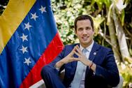 Juan Guaidó, presidente encargado de Venezuela.