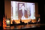 Intervención por videoconferencia de Ximo Puig en el Congreso de Orihuela.