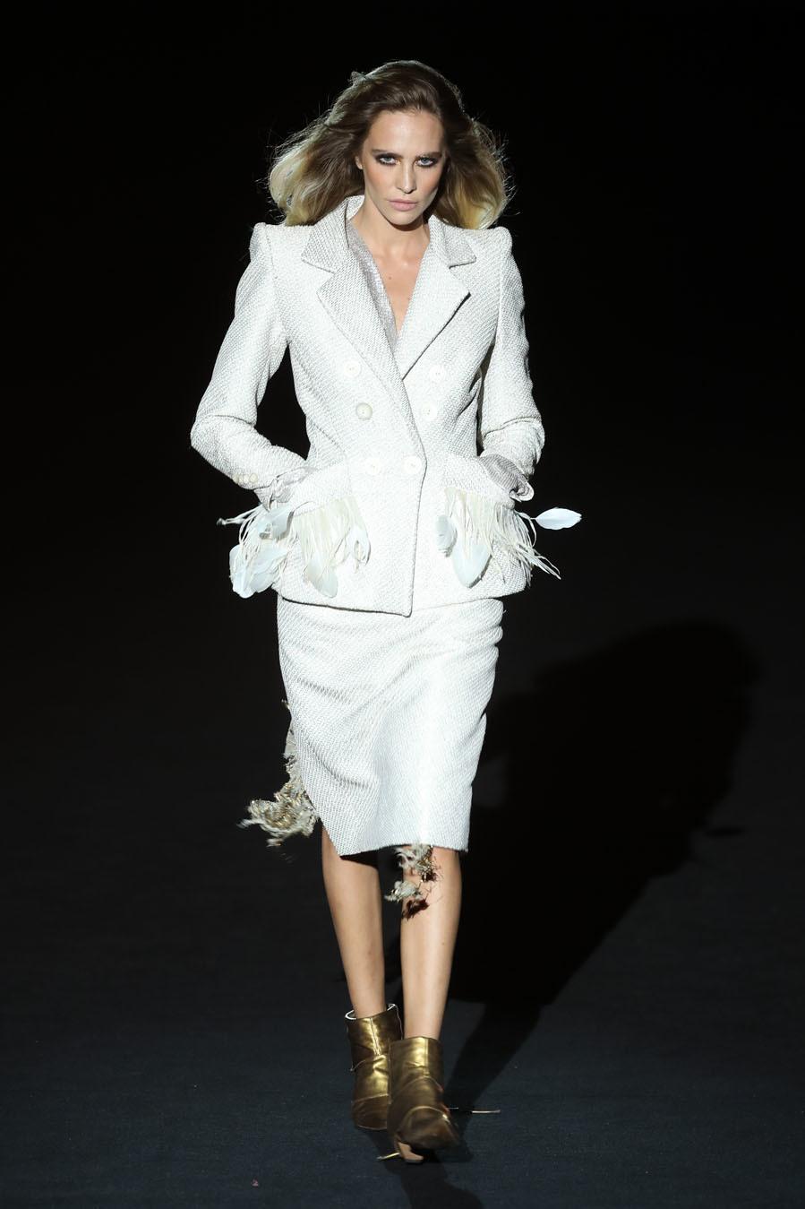 Mercedes-Benz Fashion Week Madrid - Desfile de Malne - Colección Alta Costura 2021