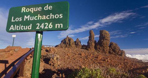 El Roque de los Muchachos de La Palma.