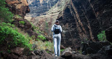 Naturaleza extrema en Tenerife.