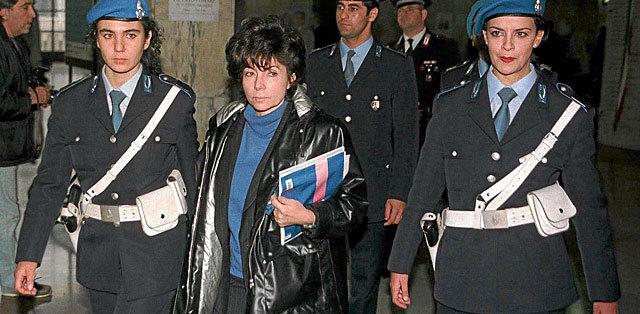 Patrizia Reggiani,  en noviembre de 1998.