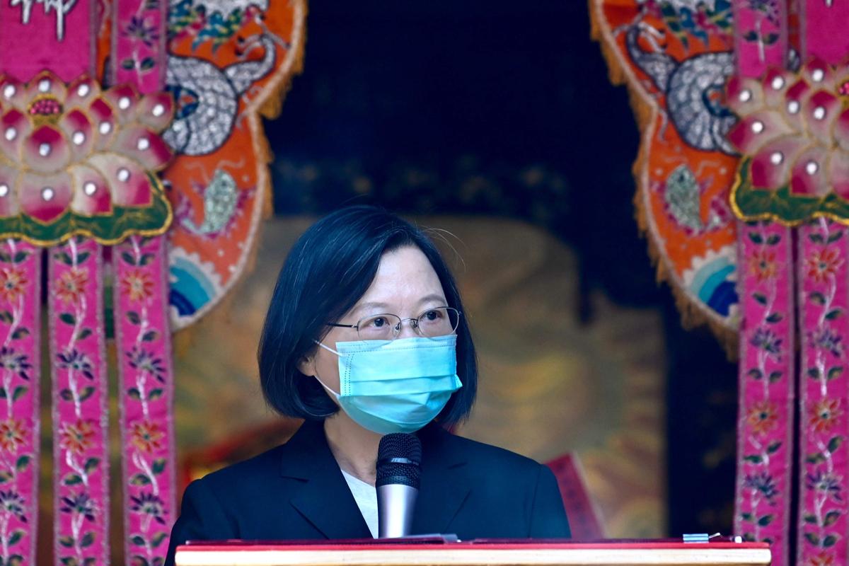 La presidenta de Taiwan, Tsai Ing-wen.