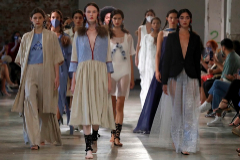 Desfile de Pilar Dalbat - Mercedes-Benz Fashion Week Madrid - Colección Primavera-Verano 2021
