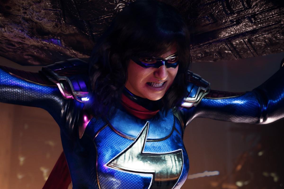 Los poderes y el 'look' de Kamala Khan evolucionan a lo largo del videojuego.