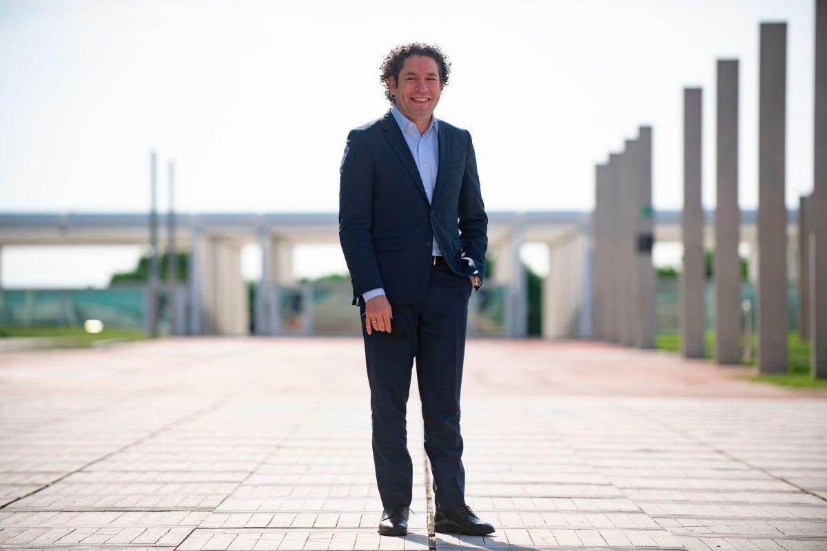 Gustavo Dudamel en CosmoCaixa.