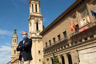 Reportaje al alcalde de Zaragoza Jorge lt;HIT gt;Azcón. lt;/HIT gt;