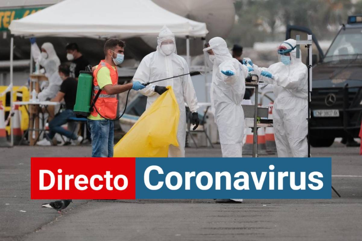Canarias | Coronavirus, última hora: 52 pacientes en UCI de 261 positivos hospitalizados