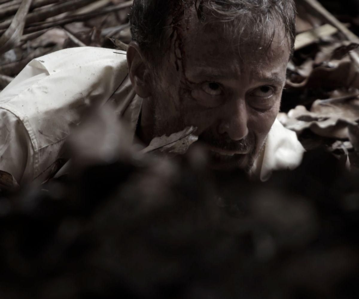 Tomás (Carlos Urrutia) sufre una odisea cuando intenta fotografiar a un pájaro exótico.