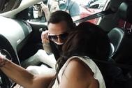 El frío reencuentro de Antonio David y Olga Moreno tras los rumores de infidelidad.
