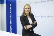 Amaya Fernández, presidenta del PP vasco.