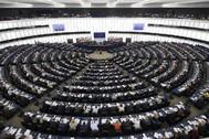 Sesión plenaria del Parlamento Europeo en Estrasburgo, en 2019.