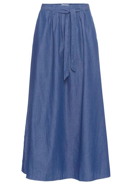 Falda vaquera larga de John Baner Jeanswear. Su precio, 29,99 euros.
