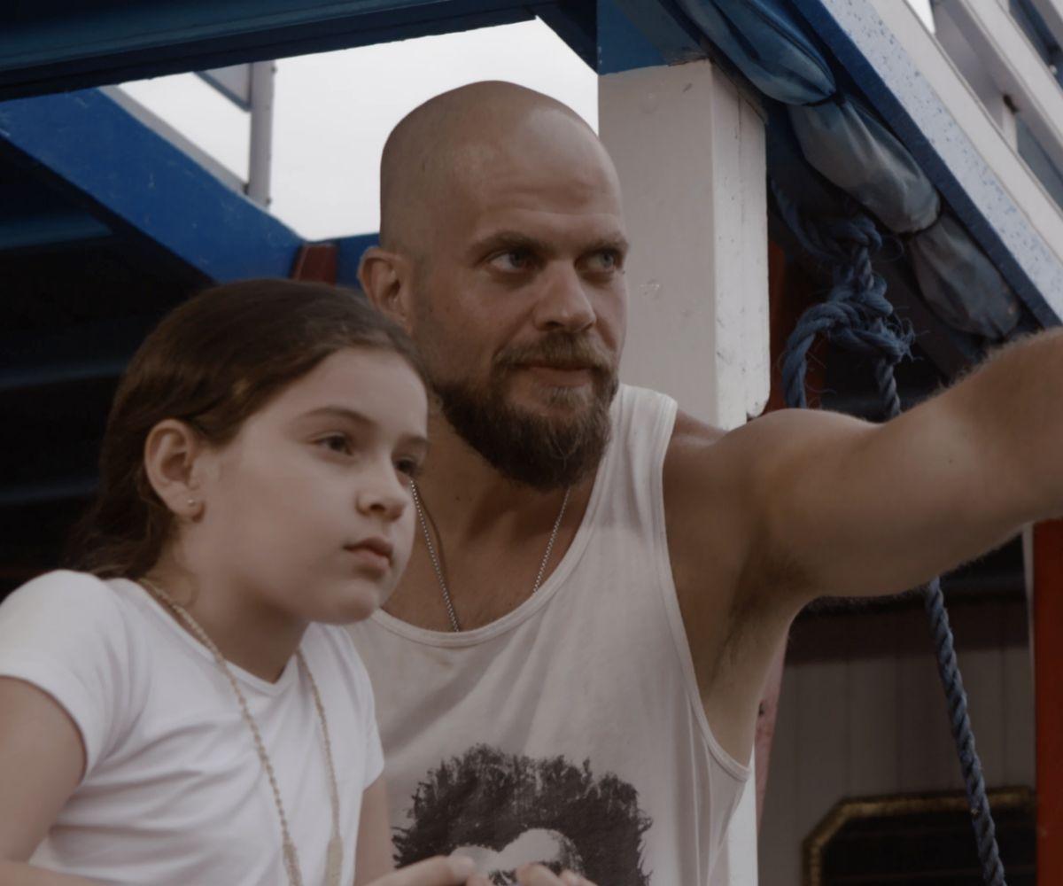 Alejandro Ibáñez (en la foto) dirige la cinta de terror 'Urubú', en la que participa con un pequeño papel.