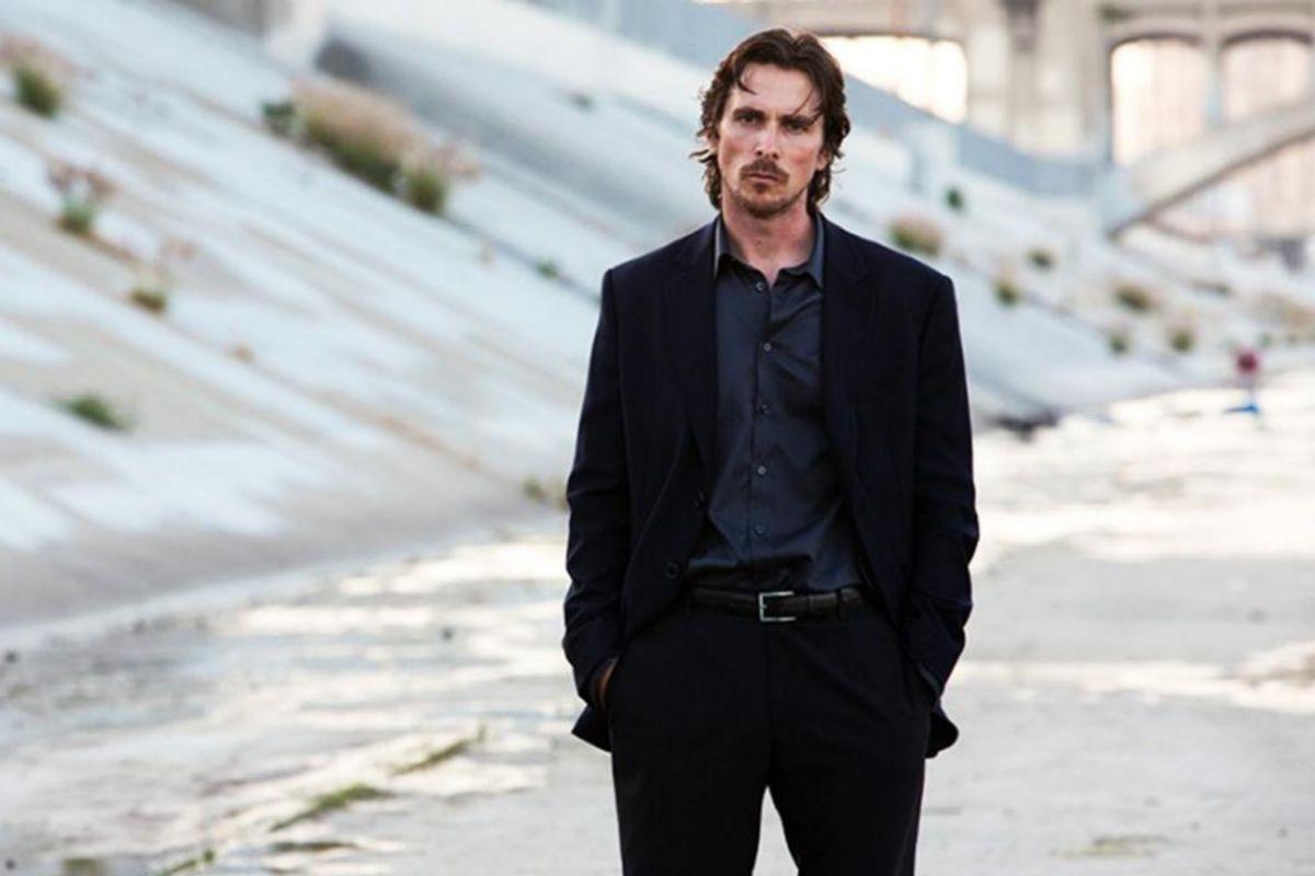 Christian Bale, estrella del drama 'Knight of Cups'.