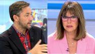 El pique de Ana Rosa Quintana y Javier Ruiz por la Ley de Memoria Democrática