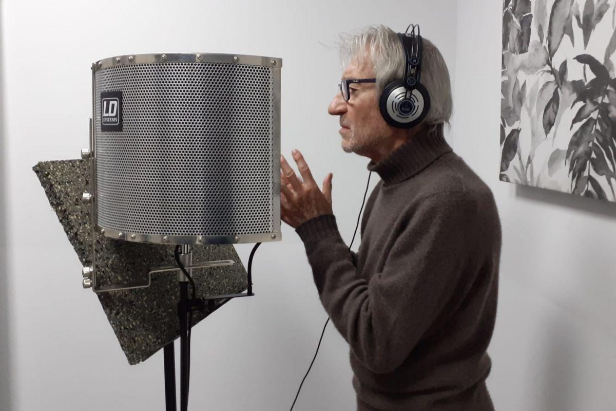José Sacristán ha grabado para la exposición algunos fragmentos de las obras de Delibes.