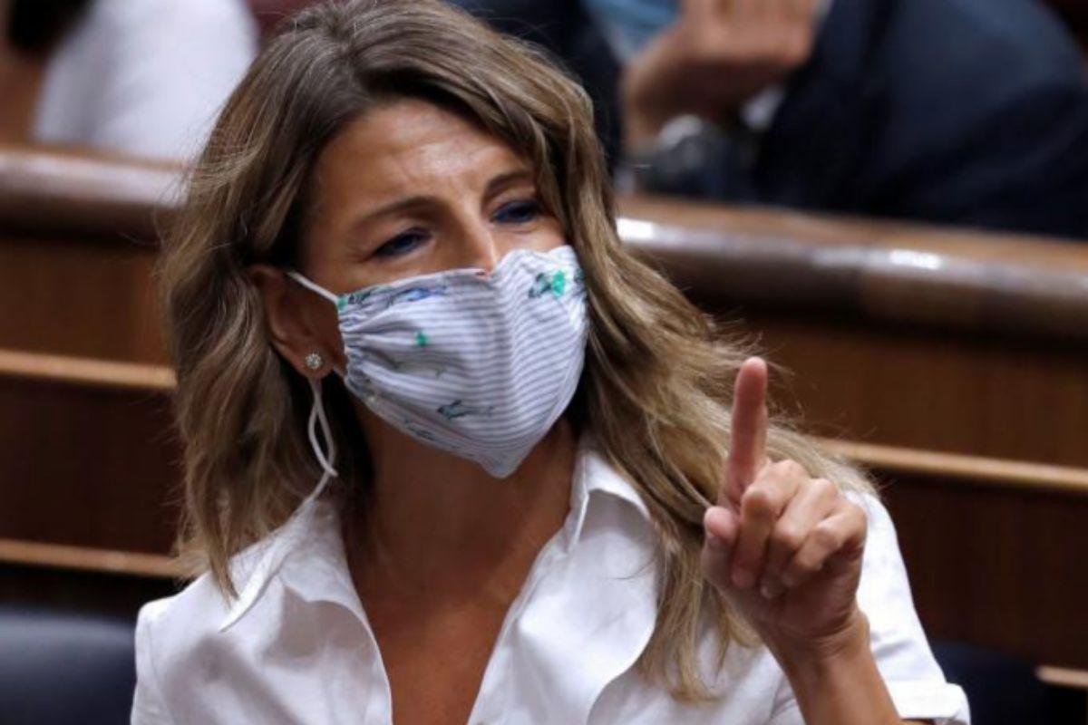 "Yolanda Díaz da su ""palabra"" a los banderilleros en un acto en Matadero: ""Vais a ser atendidos; no se trata de ideología"""