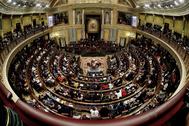 Vista general del hemiciclo, durante la sesión constitutiva de la XIII Legislatura.