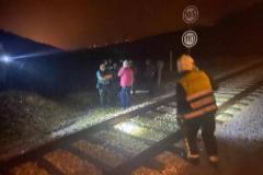 """""""El tren estuvo un rato dando botes. Sólo esperábamos el momento del impacto"""""""