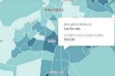 Éstas son las Áreas Básicas de Salud más afectadas por el coronavirus en Madrid