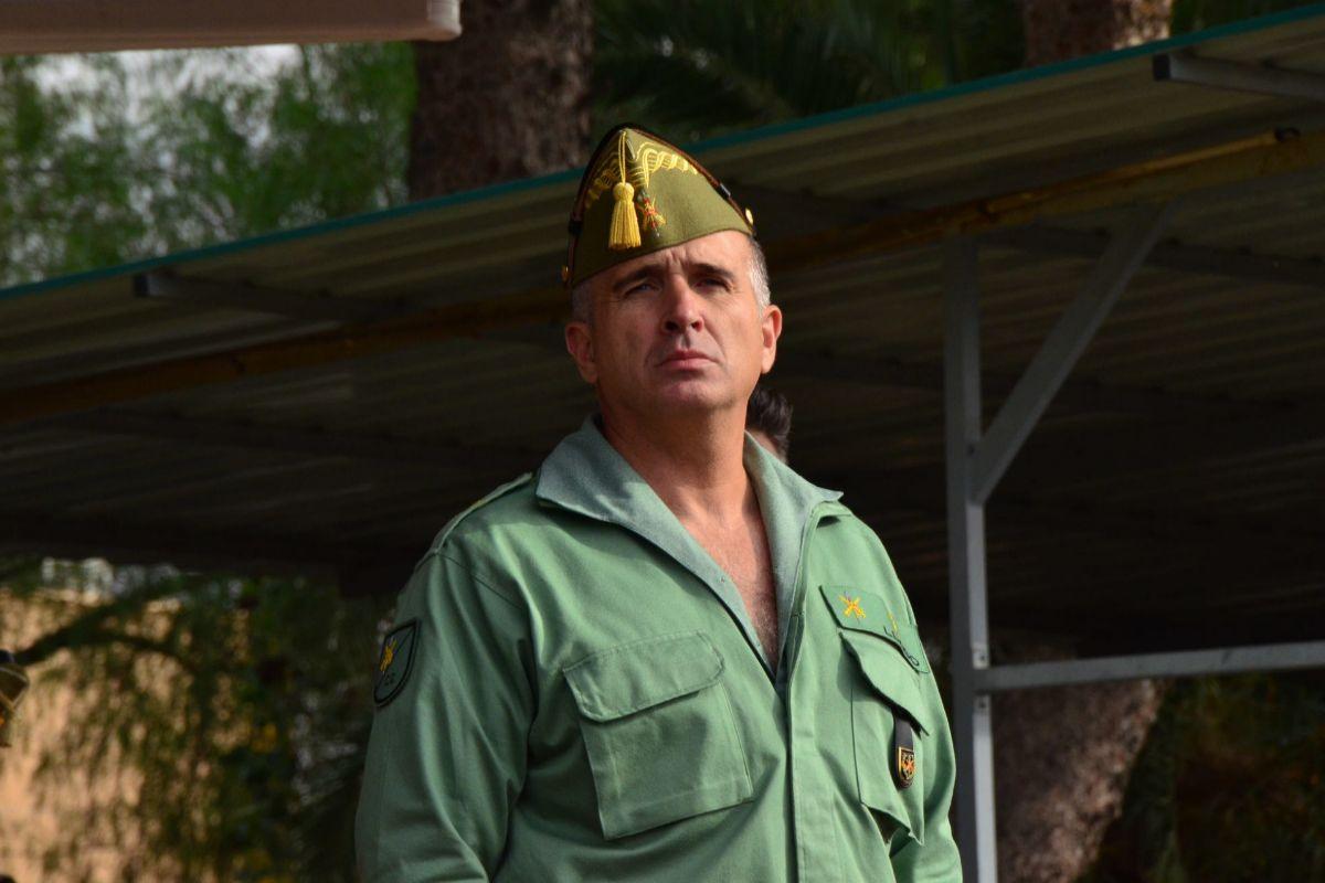 """Marcos Llago, jefe de la Legión: """"Ya estamos preparados para actuar como rastreadores"""""""