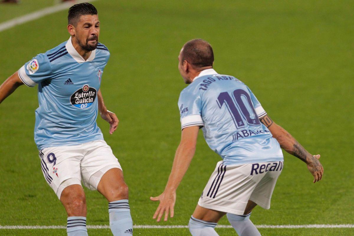 Aspas destripa al Valencia