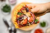 Cinco recetas de  masa de pizza alternativas y sin harina