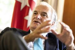 Miguel Garrido, presidente de CEIM.