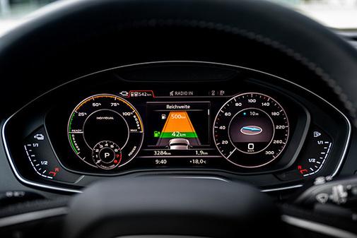 El Virtual Cockpit nos muestra la gestión del sistema en tiempo real.