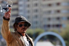 Johnny Depp en la presentación de 'Crock of gold: a few rounds with Shane Macgowan'.