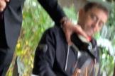Monedero y su comida en el barrio de Salamanca tras manifestarse contra Ayuso en Vallecas