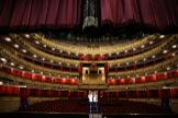 Imagen del Teatro Real de Madrid vacío.