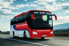 El viaje en autobús más largo del mundo: 18 países y 70 días de Nueva Delhi a Londres