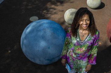 Ana-Lute Kazoka González, voluntaria en el ensayo de la vacuna anticovid de Janssen en España.